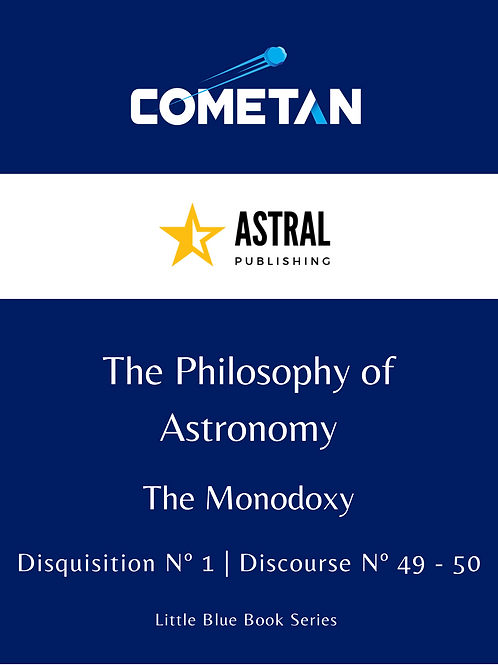 The Philosophy of Astronomy by Cometan