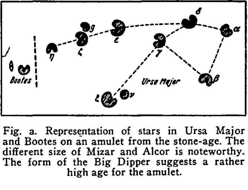 Figure 3 – Great Star Amulet specimen (Makemson, 1954, p163-171)