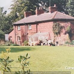 Back Garden of Crowtrees Cottage, Brindl