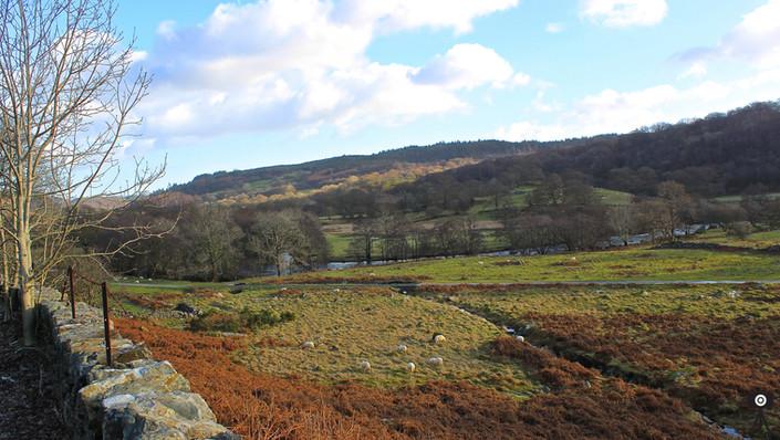 Across The Welsh Hills