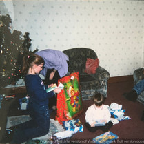 Cometan's Family Opening Presents.jpg