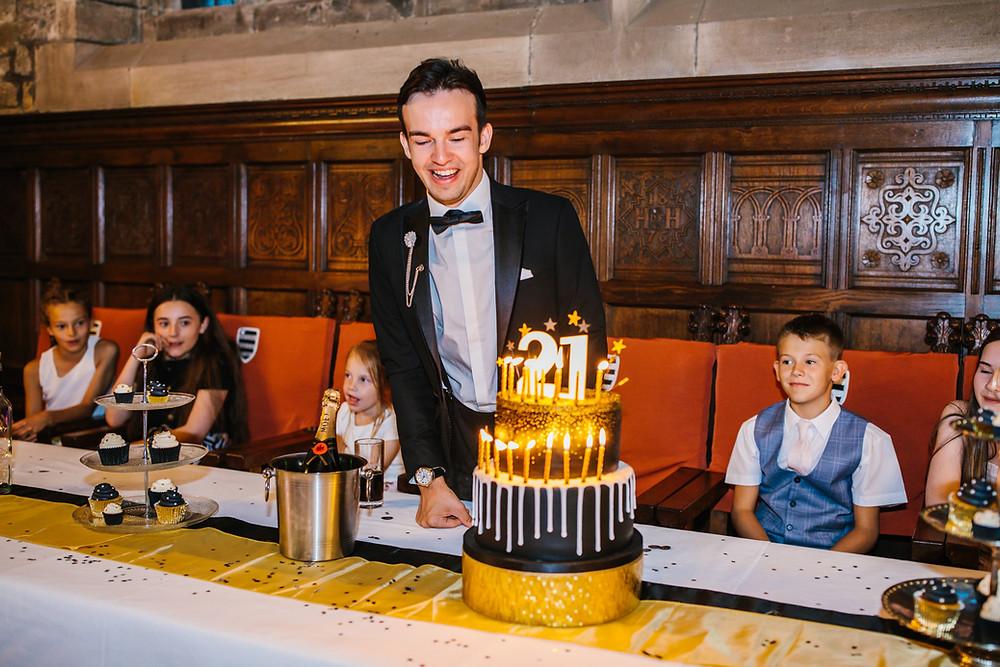 Cometan's 21st birthday cake