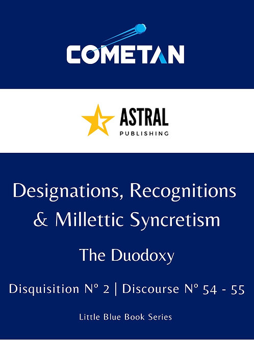 Designations, Recognitions & Millettic Syncretism by Cometan