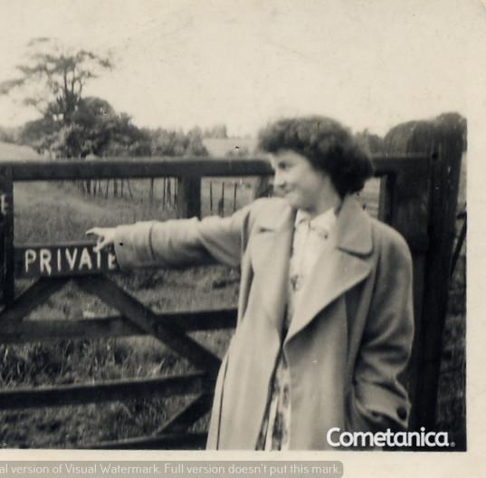 Grandmother of Cometan, Hilda Warbrick,