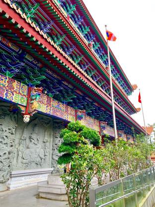 Po Lin Monastery by Cometan