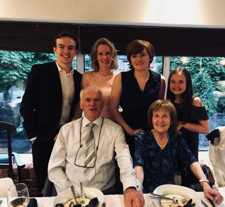 Cometan's Grandparents' Diamond Wedding Anniversary Event