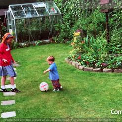 Cometan In The Garden of Brooklands With