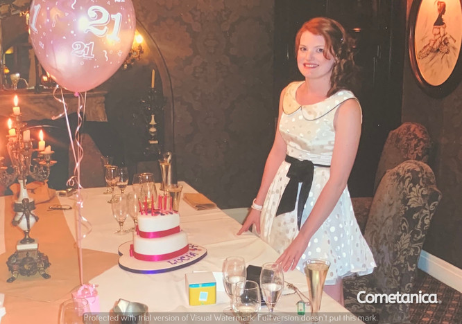 Lucia Natalie, Sister of Cometan, On Her 21st Birthday