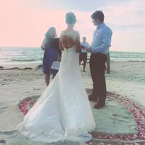 Louise & Julian's Wedding Ceremony on Lo