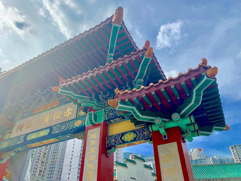 Taoist Temple Gates by Cometan