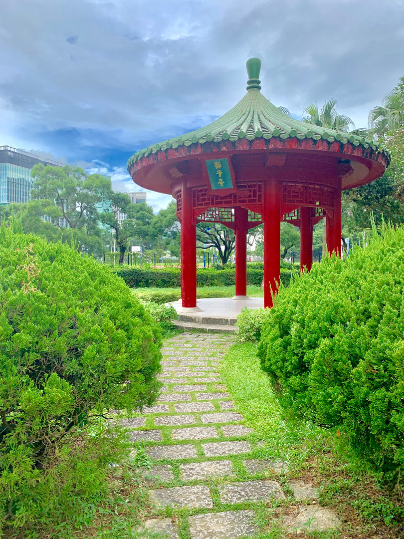 The Chinese University of Hong Kong Campus, August 2019. Taken by Cometan