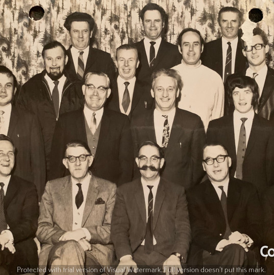 Cometan's Grandfather With Co-workers (b