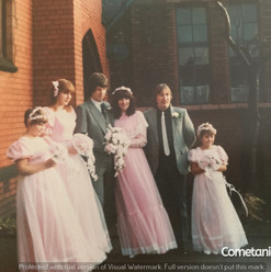 Wedding of Julie Conway, First Cousin On