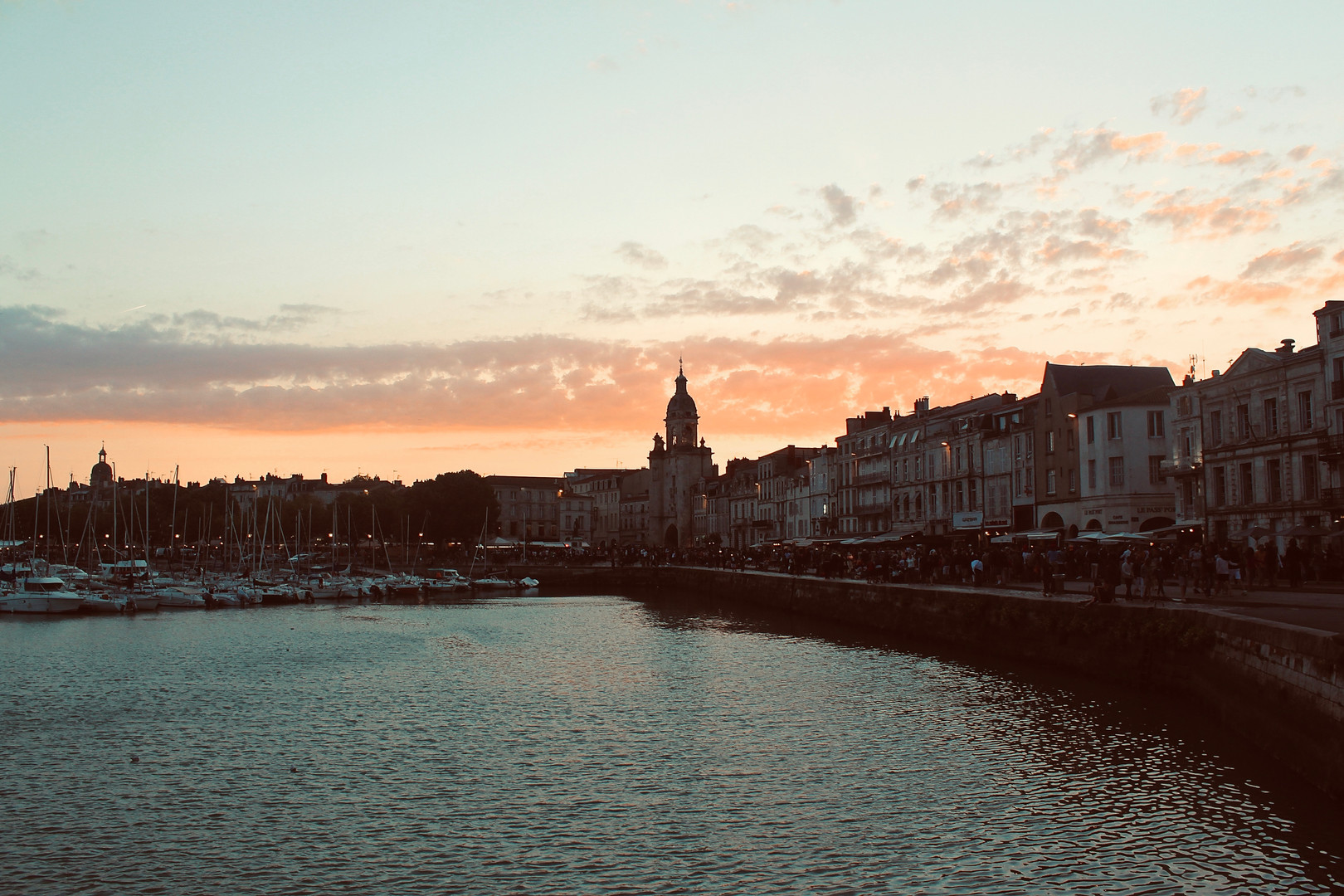 La Rochelle at Sunset