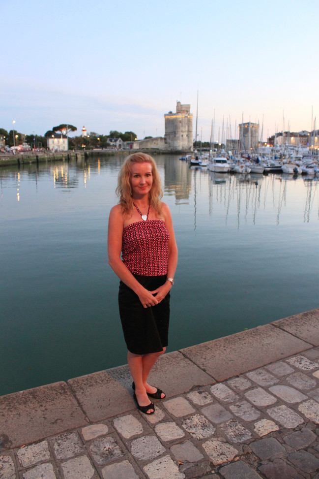Louise J. Counsell at La Rochelle, France