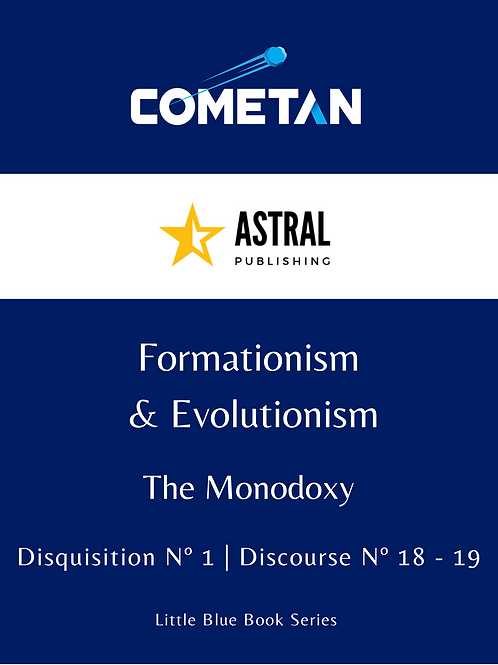 Formationism & Evolutionism by Cometan