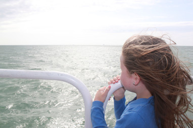 Charlotte Sophia Looking Out To Sea