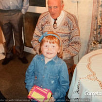 Lucia Natalie With Great Uncle Steve.jpg