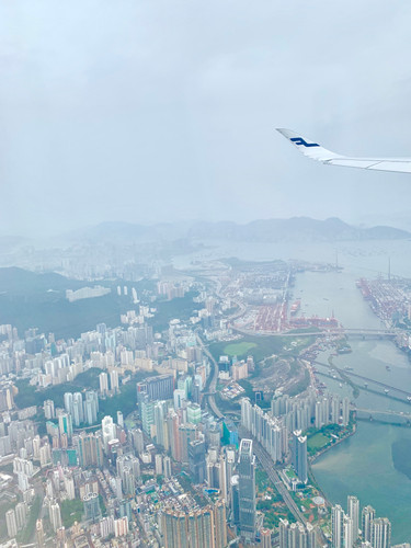 Cometan's First Glimpse of Hong Kong