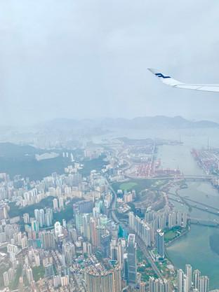 Cometan's First Glimpse of Hong Kong