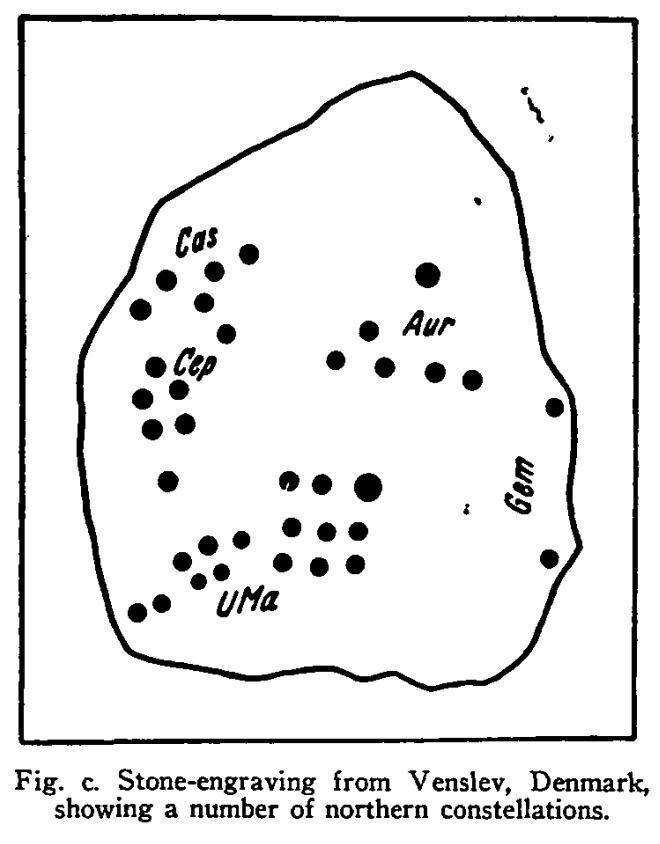 Figure 8a – Danish Star Stone specimen. Sample One. (Makemson, 1954, p163-171)