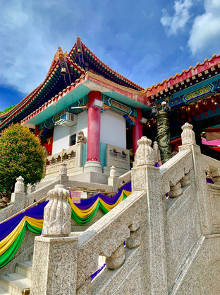 Taoist Temple visited by Cometan in August 2019