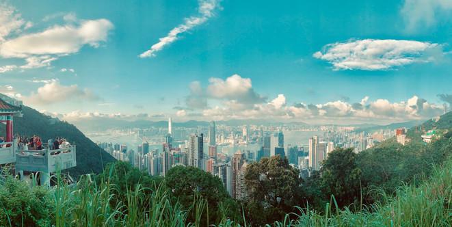 Panorama of Hong Kong taken by Cometan