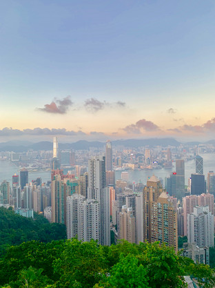 Hong Kong City Overview by Cometan