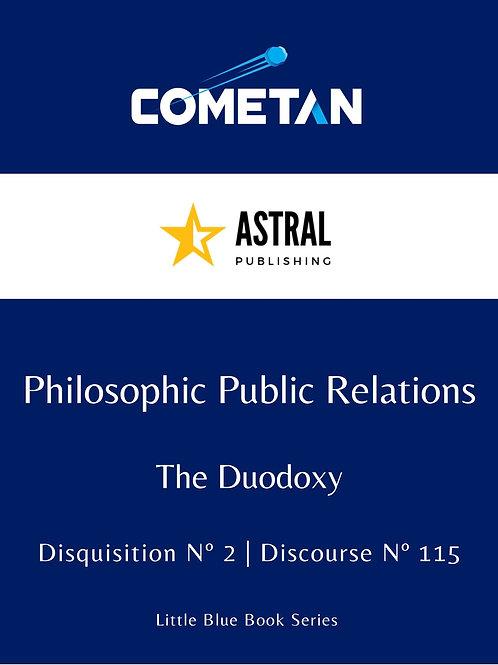 Philosophic Public Relations by Cometan