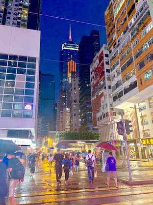Central Hong Kong. August 2019 Taken by Cometan