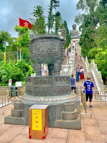 The Tian Tan Buddha Taken by Cometan