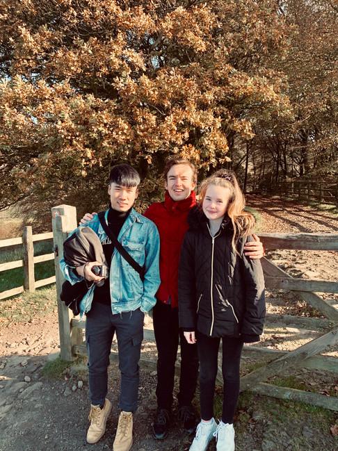 Cometan, Heastward and Charlotte Sophia in Autumn 2019
