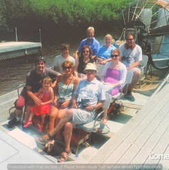 Cometan With Family in the Everglades, F