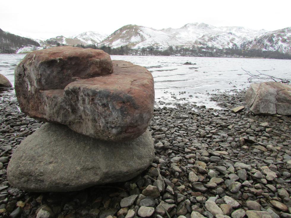 Rocks By The Lake