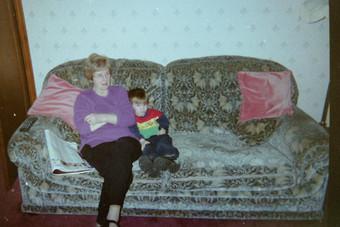 Cometan With His Grandmother, Hilda Warbrick