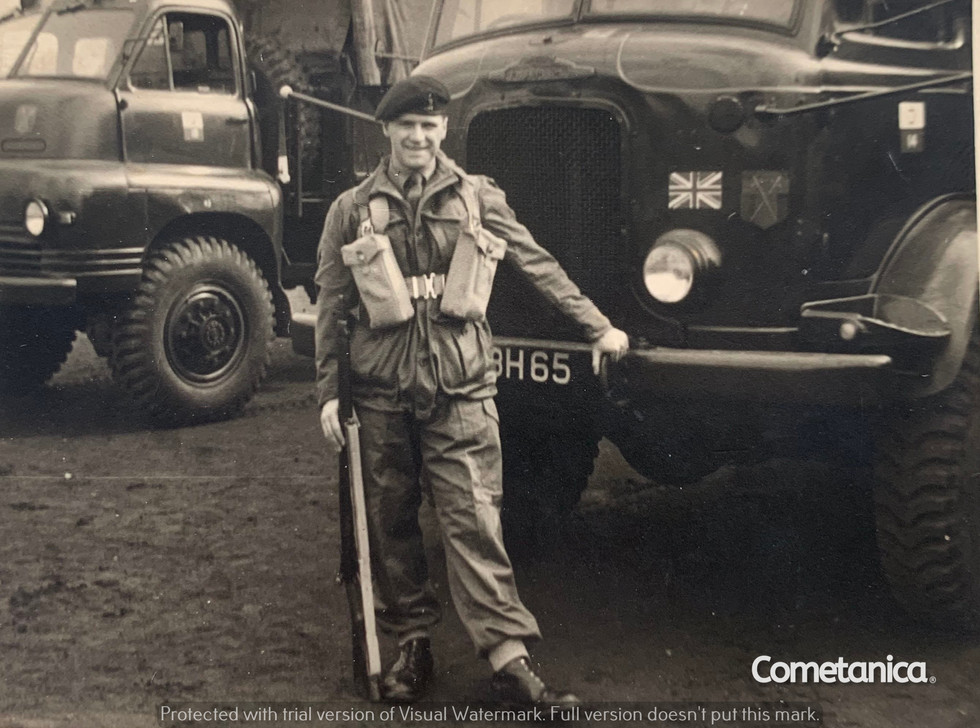 William Warbrick, grandfather of Cometan, whilst in the British Army