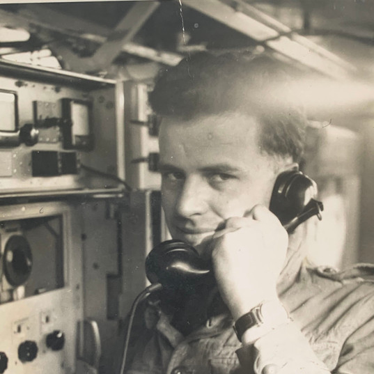Grandfather of Cometan on the Telephone.