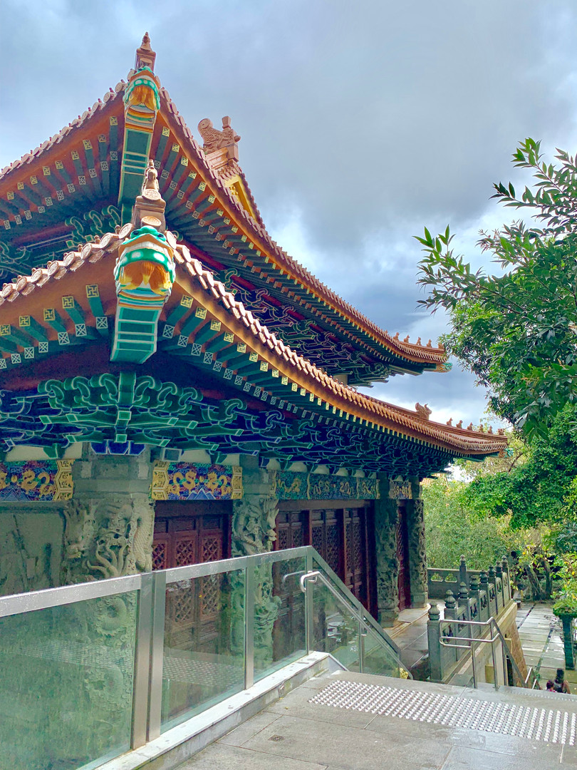 Po Lin Monastery Temple by Cometan