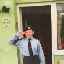 Teenage Lucia Natalie In The Cadets.jpg