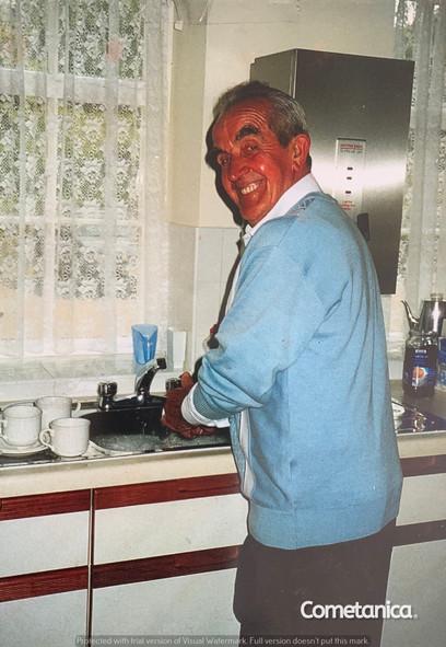 Derrick Taylor, Paternal Grandfather of Cometan