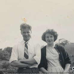 Bill & Hilda Warbrick, grandparents of C