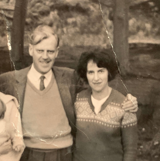 Betty & George Conway, Great Aunt & Grea