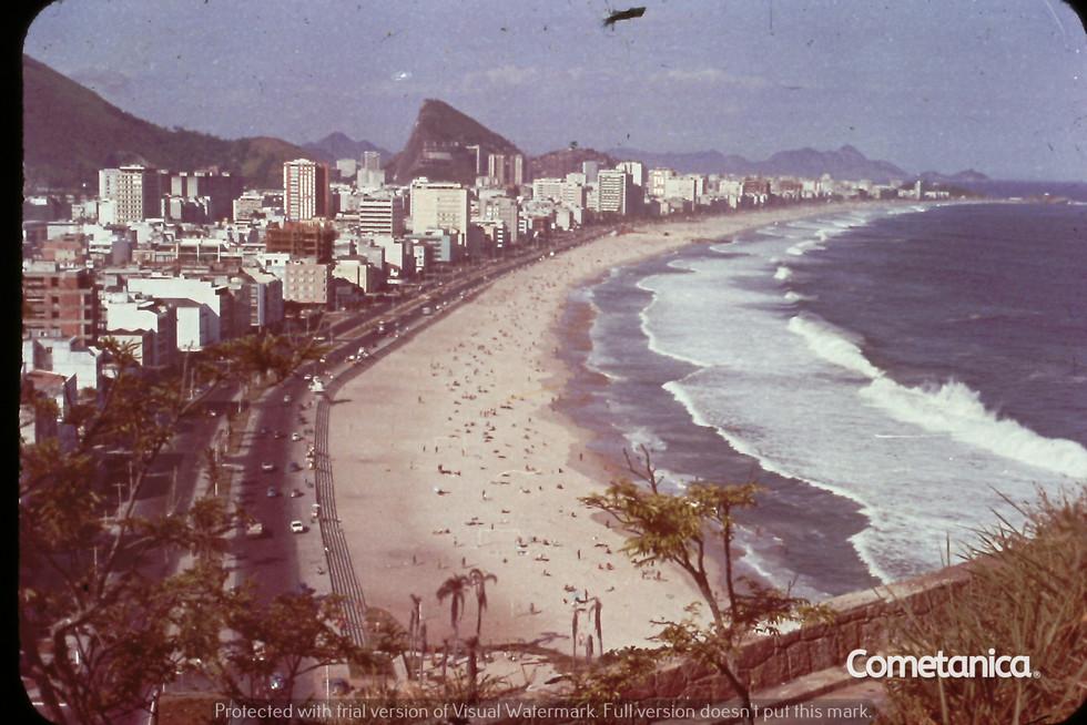 "Rio in the 1970s Photo Taken by Cometan's Grandfather, William ""Bill"" Warbrick"
