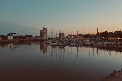 Sunset at La Rochelle