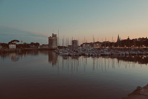 Sunset at La Rochelle
