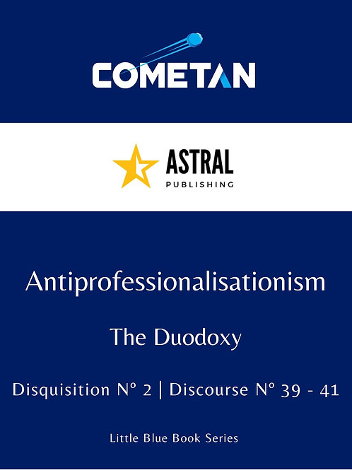 Antiprofessionalisationism by Cometan