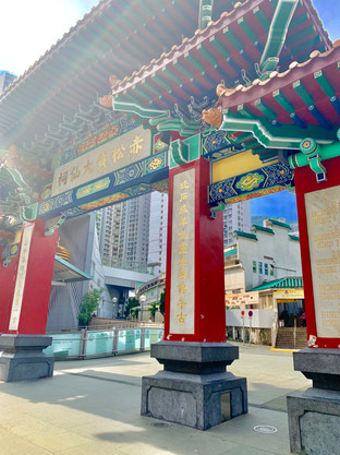 Gates to the Taoist Temple by Cometan