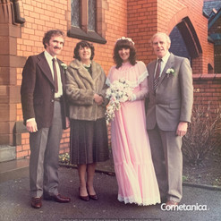 Betty & Steve Conway at the Wedding of J