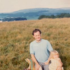 Louise J. Counsell With Her Father Enjoy