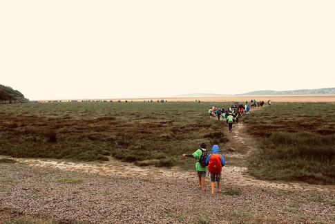 The Morecambe Bay Charity Walk